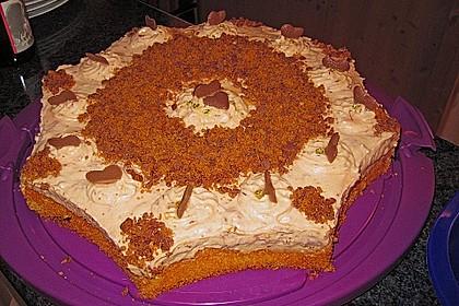 Zwetschgen - Mascarpone - Torte mit Giotto - Kugeln