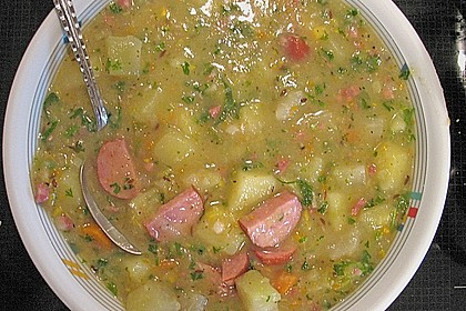 Kohlrabi - Kartoffelsuppe 1