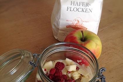 Erdbeer - Apfel - Nuss - Müsli (Bild)