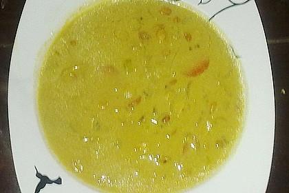 Afrikanische Erdnuss - Lauch - Suppe 13