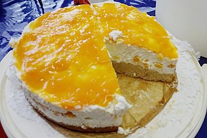 Pfirsich - Philadelphia - Torte 5
