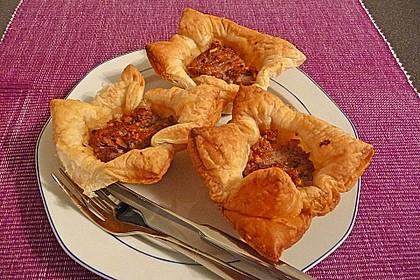 Herzhafte Blätterteig - Gehacktes - Muffins 7
