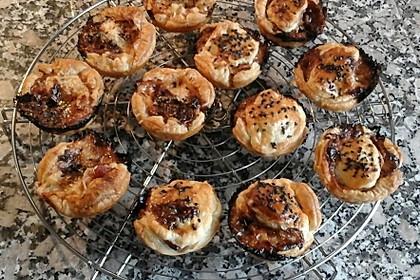 Herzhafte Blätterteig - Gehacktes - Muffins 10