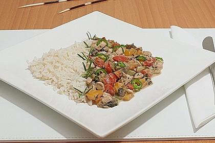 Mediterrane Gemüsepfanne mit Hähnchenbrustfilet 4