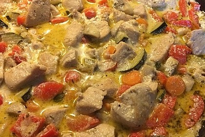 Mediterrane Gemüsepfanne mit Hähnchenbrustfilet 12