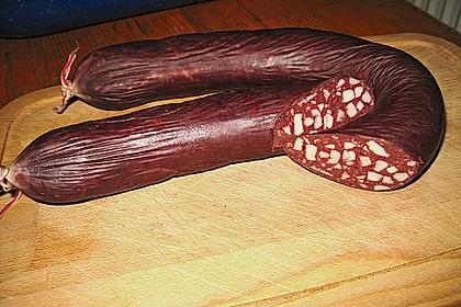 Blutwurst  (Pfälzer - Hausmacher) 1