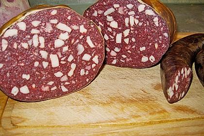 Blutwurst  (Pfälzer - Hausmacher) 2