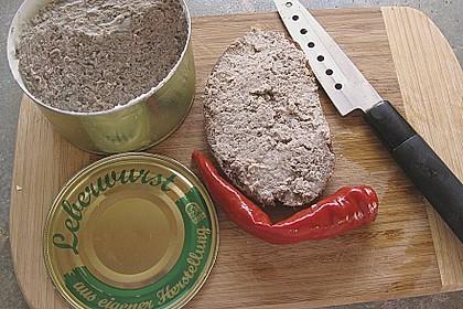 Leberwurst Pfälzer Art 5