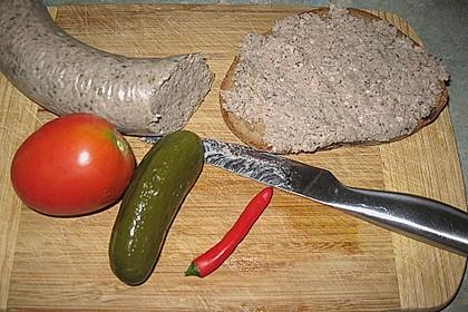 Leberwurst Pfälzer Art 3