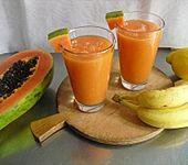 Papaya - Bananen - Smoothie (Bild)