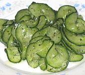 Dänischer Gurkensalat (Bild)