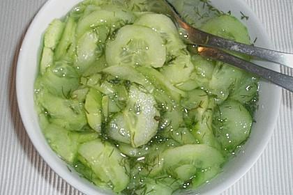 Dänischer Gurkensalat 98