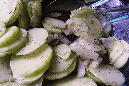 Dänischer Gurkensalat 107
