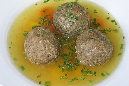 Suppeneinlage - Leberknödel