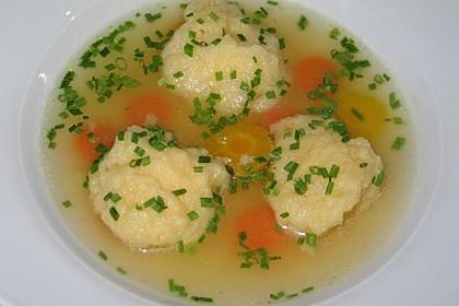 Suppeneinlage - Butternockerl 1