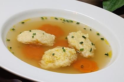 Suppeneinlage - Butternockerl
