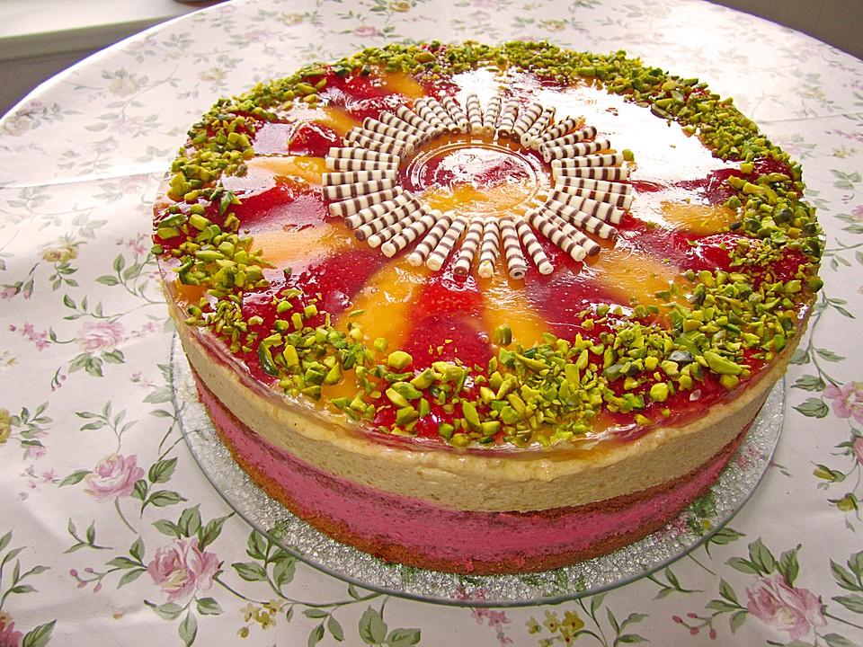 Erdbeer Mango Torte Von Reise Tiger Chefkoch De