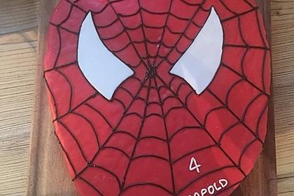 Lettas Spiderman - Motivtorte 11