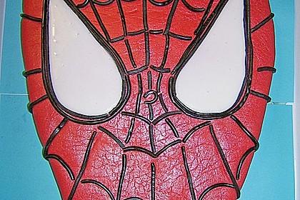 Lettas Spiderman - Motivtorte 9