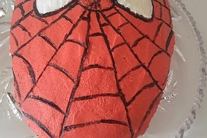 Lettas Spiderman - Motivtorte 30
