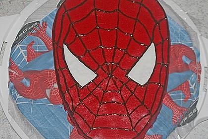 Lettas Spiderman - Motivtorte 8