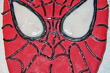 Lettas Spiderman - Motivtorte 14