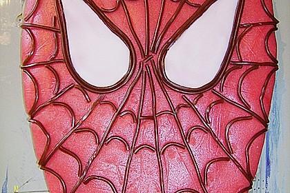 Lettas Spiderman - Motivtorte 13