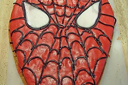 Lettas Spiderman - Motivtorte 17