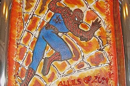 Lettas Spiderman - Motivtorte 4