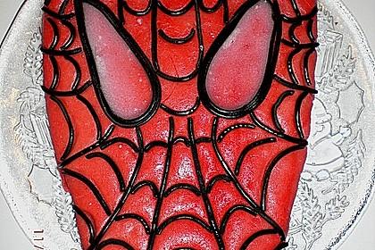 Lettas Spiderman - Motivtorte 22
