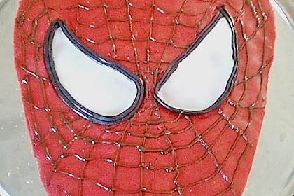 Lettas Spiderman - Motivtorte 41