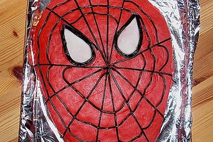 Lettas Spiderman - Motivtorte 27