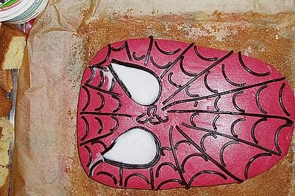 Lettas Spiderman - Motivtorte 23