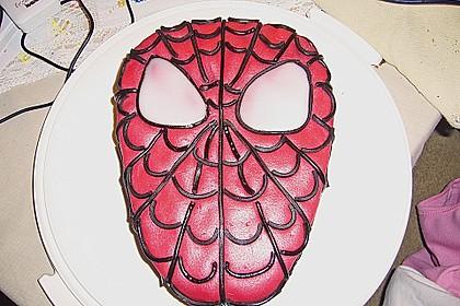 Lettas Spiderman - Motivtorte 28