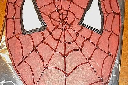 Lettas Spiderman - Motivtorte 21