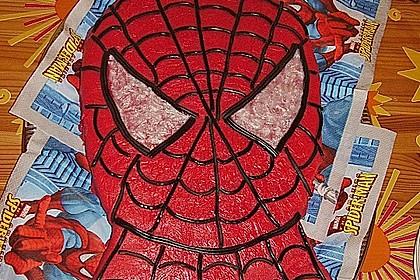 Lettas Spiderman - Motivtorte 26