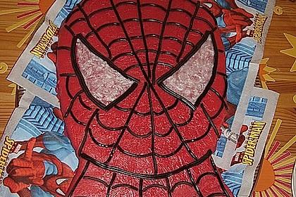 Lettas Spiderman - Motivtorte 20