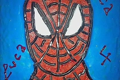 Lettas Spiderman - Motivtorte 16