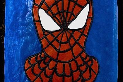 Lettas Spiderman - Motivtorte 2