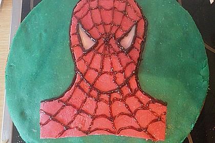 Lettas Spiderman - Motivtorte 18