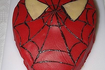 Lettas Spiderman - Motivtorte 29