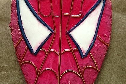 Lettas Spiderman - Motivtorte 10