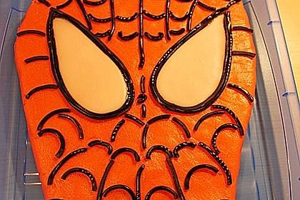 Lettas Spiderman - Motivtorte 19