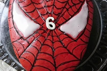Lettas Spiderman - Motivtorte 6