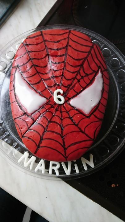 Lettas Spiderman Motivtorte Von Letta22 Chefkoch De