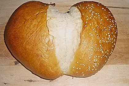 Bio - Herz - Brot 5