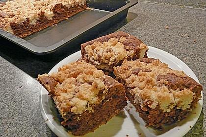 Brownies mit versunkenen Kokosstreuseln 2