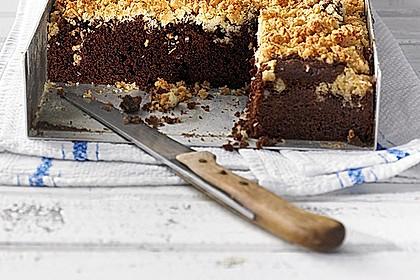 Brownies mit versunkenen Kokosstreuseln 3