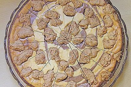 Vanilliger Zebra - Zupfkuchen 1