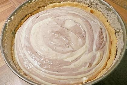 Vanilliger Zebra - Zupfkuchen 7